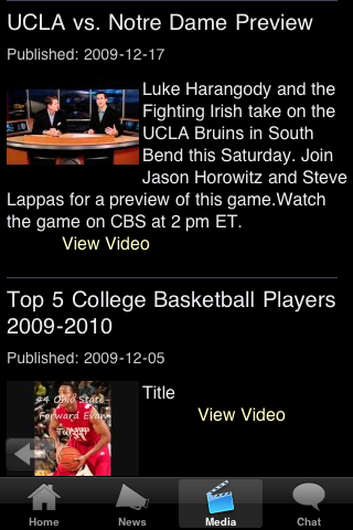 Pacific College Basketball Fans screenshot #5