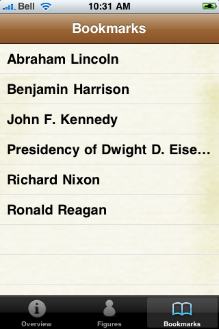 US Presidents Pocket Book screenshot #5