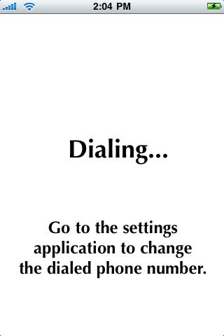 Dial My Work screenshot #1