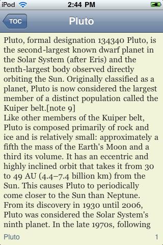 Pluto - Dwarf Planet screenshot #2