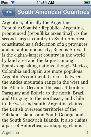 The Countries of South America screenshot #2