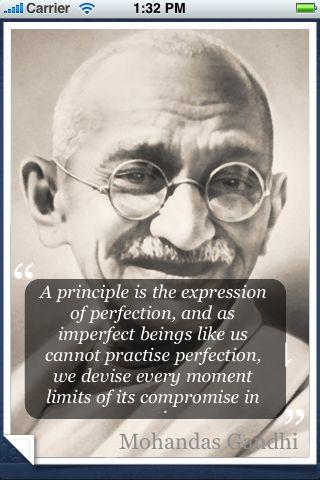 Mohandas Gandhi Quotes screenshot #1