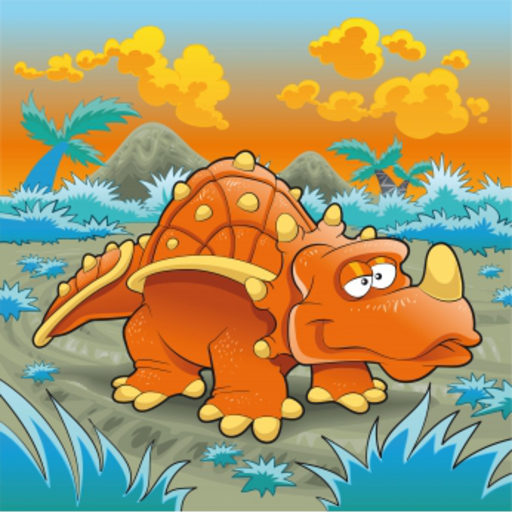 Dinosaur Slide Puzzle