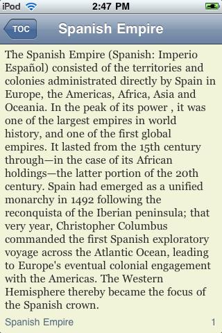 The Spanish Empire screenshot #2