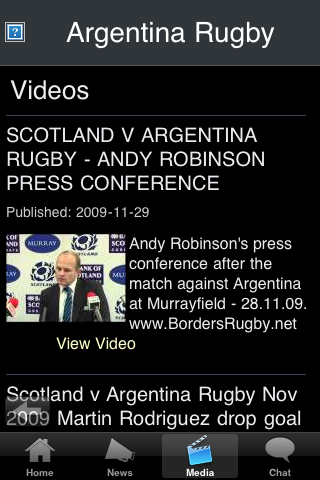 Rugby Fans - Argentina screenshot #3