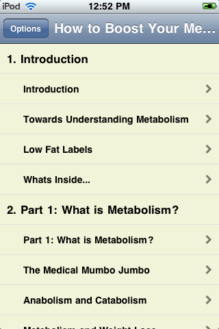 Boost Your Metabolism Now screenshot #1