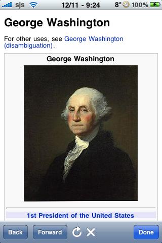 George Washington Quotes screenshot #1