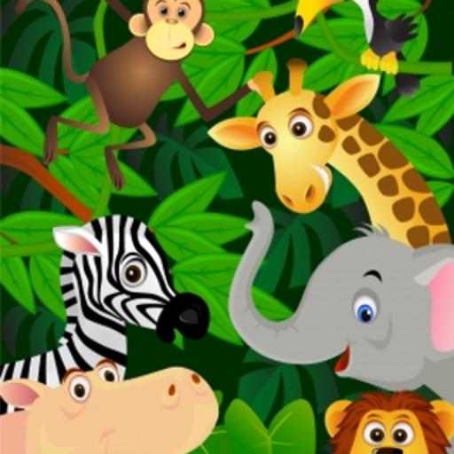Jungle Animals Slide Puzzle