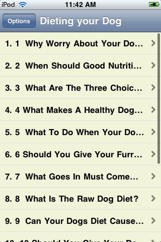 Dieting Your Dog screenshot #1