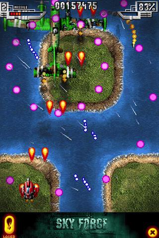 Sky Force LITE screenshot #3