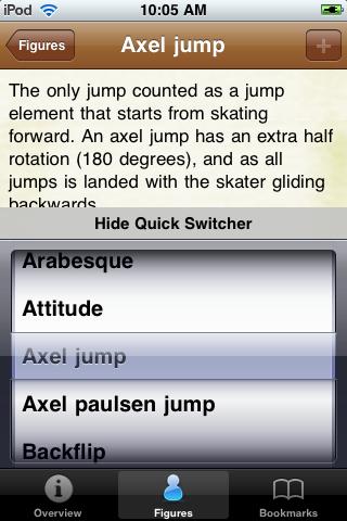 Figure Skating Pocket Book screenshot #4
