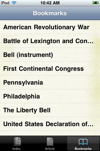 The Liberty Bell Study Guide screenshot #3