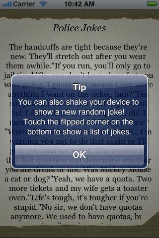 Police Jokes screenshot #2