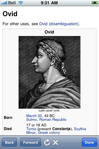 Ovid Quotes screenshot #1