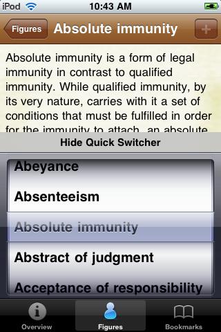 Legal Terms Glossary Book screenshot #4