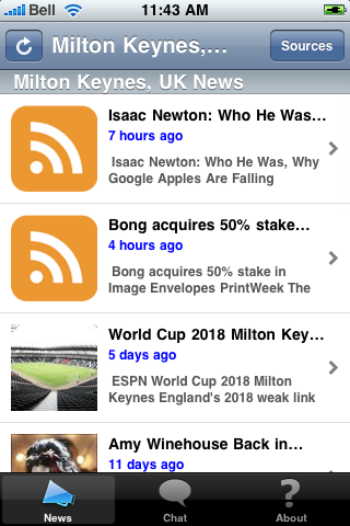 Milton Keynes, UK News screenshot #1