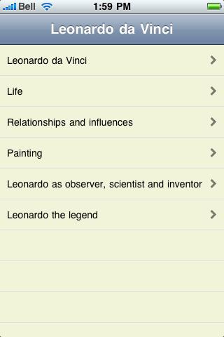 Leonardo da Vinci screenshot #1
