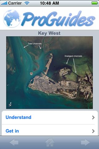 ProGuides - Key West screenshot #1