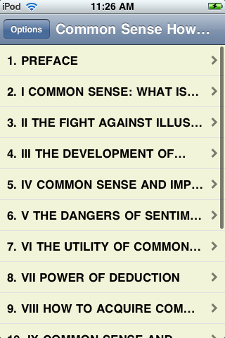 Common Sense - How to Exercise it screenshot #1