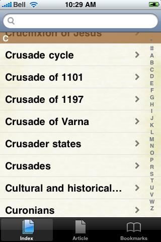 The Crusades Study Guide screenshot #3