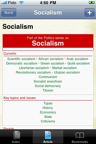 Socialism Study Guide screenshot #1