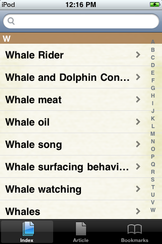 Whales Study Guide screenshot #2