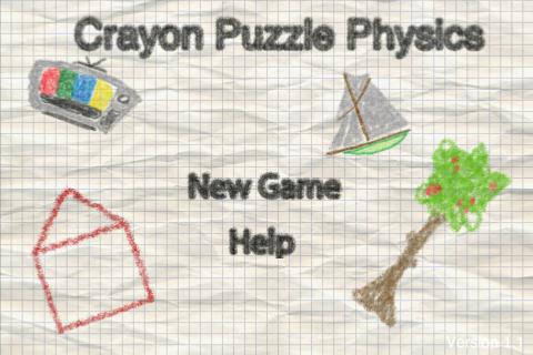 Crayon Puzzle Physics screenshot #4