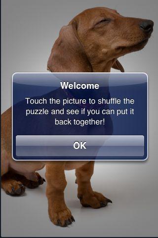 SlidePuzzle - Daschund screenshot #2