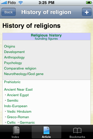 History of Religion Study Guide screenshot #1