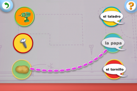 Handy Manny Flicker's Flashcard Fiesta screenshot #5