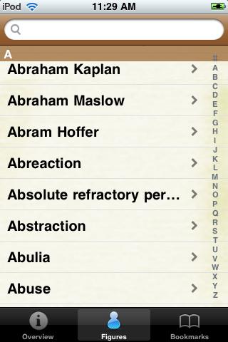 Psychology Terms Pocket Book screenshot #2