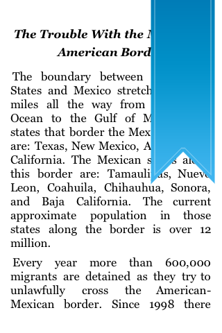 The Trouble With The Mexican – American Border screenshot #5