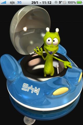 Alien Slide Puzzle screenshot #1