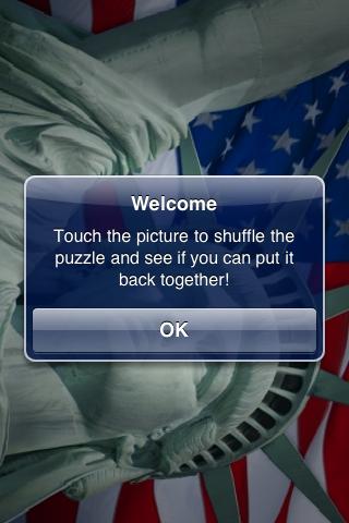 Statue of Liberty Slide Puzzle screenshot #2