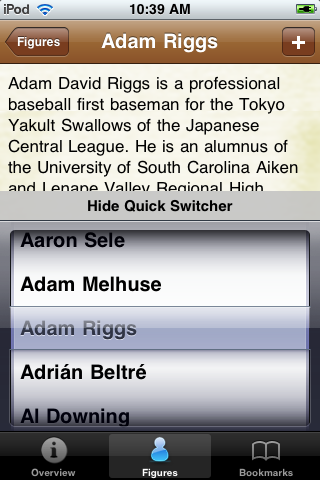 All Time Los Angeles Baseball Roster screenshot #3