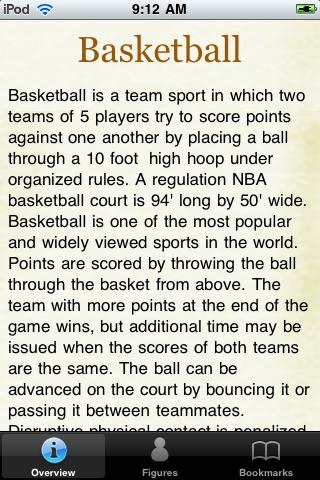 Basketball Terminology screenshot #1