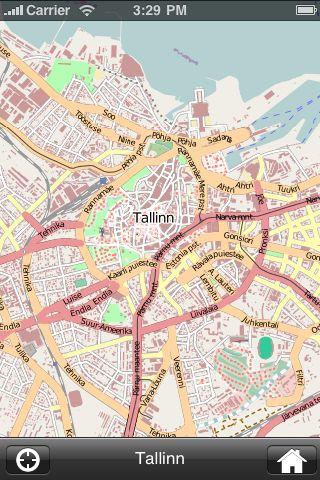 iMapsPro - Tallinn screenshot #1
