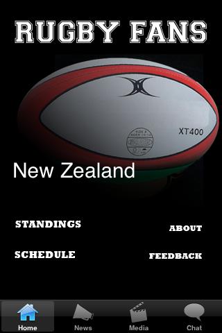 Rugby Fans - New Zealand screenshot #1