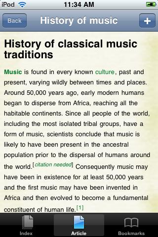 History of Music Study Guide screenshot #1