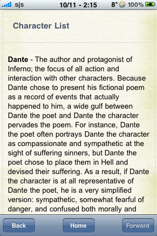 Book Notes - Inferno screenshot #2