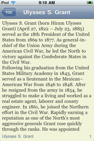 Ulysses S. Grant - Just the Facts screenshot #3