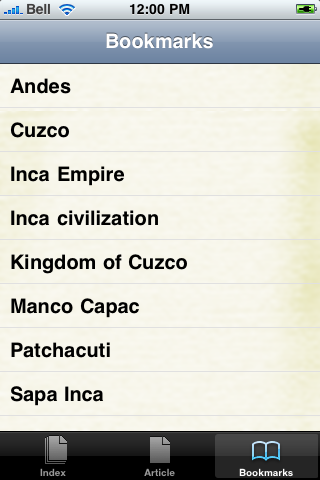 The Inca Study Guide screenshot #2