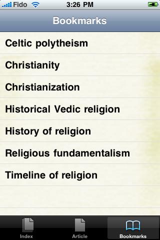 History of Religion Study Guide screenshot #3