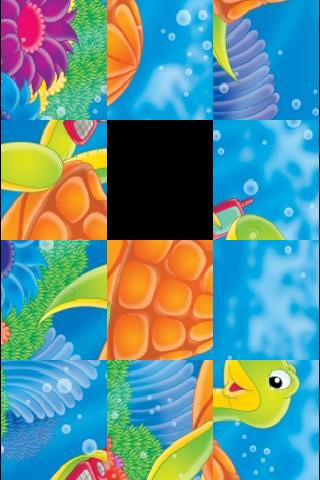 Sea Turtle Slide Puzzle screenshot #3