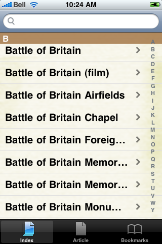 Battle of Britain Study Guide screenshot #3
