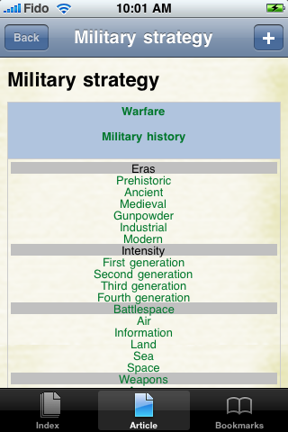 Military Strategy Study Guide screenshot #1