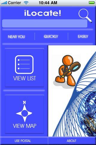 iLocate - Family Restaurants screenshot #1