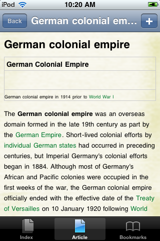 The German Colonial Empire Study Guide screenshot #1