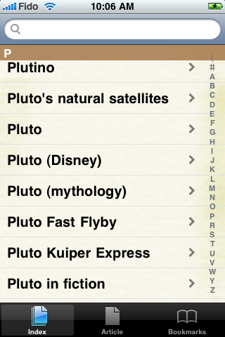 Pluto Study Guide screenshot #2