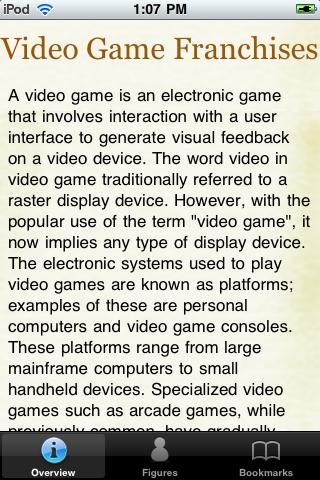 Video Game Franchises Pocket Book screenshot #1